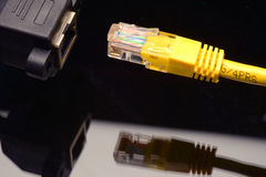 网络连接器 库存照片