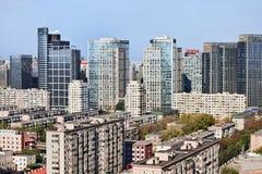 网间连接计算机Corp 办公楼,北京,中国 免版税图库摄影
