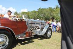 罕见的古色古香的英国汽车 免版税库存照片