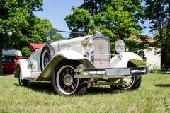 罕见的标致汽车12-six 183从1927年 免版税库存照片