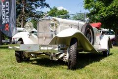 罕见的标致汽车12-six 183从1927年 库存照片