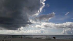 罕见的迈阿密天空 免版税库存照片