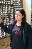 默罕默德阿里宫殿的妇女 免版税图库摄影