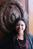 默罕默德阿里宫殿的妇女 图库摄影