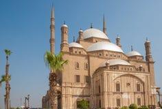 默罕默德阿里或雪花石膏清真寺,萨拉丁城堡,开罗,埃及 库存照片