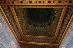 默罕默德陵墓的内部v在拉巴特,摩洛哥, 库存图片