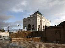 默罕默德陵墓v在拉巴特 库存图片