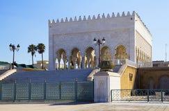 默罕默德陵墓v,摩洛哥 免版税图库摄影