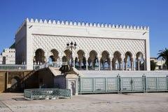 默罕默德陵墓v,摩洛哥 免版税库存照片