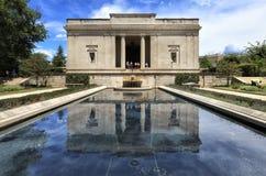 罗丹博物馆在费城,宾夕法尼亚,美国 库存图片