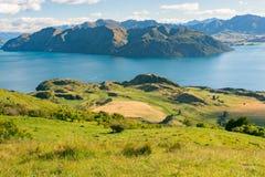罗伊峰顶,新西兰 免版税库存照片