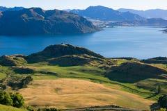 罗伊峰顶,新西兰 库存图片