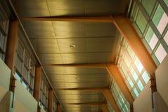 罗伊罗杰斯俄克拉何马市国际机场 免版税库存图片