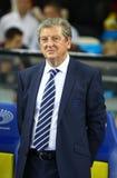 罗伊・霍奇森,英国国家橄榄球队的经理 库存照片