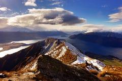 罗伊` s峰顶,新西兰 免版税库存照片