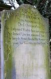 罗伯特弗格森坟墓在爱丁堡 库存图片