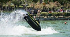 罗伯特马里亚尼喷气机滑雪 免版税库存图片