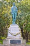 罗伯特・伯恩斯纪念碑在金门公园在旧金山 图库摄影