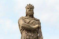 罗伯特・布鲁斯,国王苏格兰语 免版税库存图片