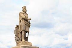 罗伯特・布鲁斯,国王苏格兰语 免版税库存照片