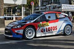 罗伯特・库比查- WRC - 07 库存图片