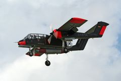 罗克韦尔OV-10野马航空器 免版税库存图片