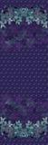 紫罗兰开花水彩花束 向量例证