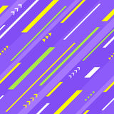 紫罗兰色几何无缝的样式 库存图片