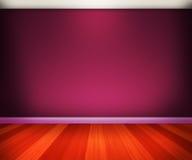 紫罗兰色室 库存照片