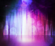 紫罗兰色抽象舞台背景 库存图片