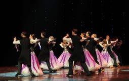 紫罗兰色探戈这奥地利的世界舞蹈 免版税图库摄影