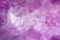 紫罗兰色烟 库存图片