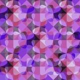紫罗兰色现代几何抽象背景 免版税库存照片