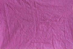 紫罗兰色缎带包装纸纹理 库存照片