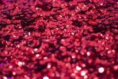 紫罗兰色背景是明亮和抽象的与闪闪发光 免版税库存图片