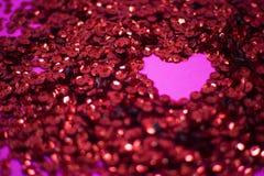 紫罗兰色背景是明亮和抽象的与闪闪发光 库存图片