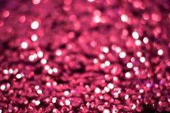 紫罗兰色背景是明亮和抽象的与闪闪发光 免版税库存照片