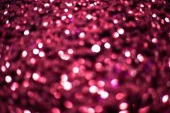 紫罗兰色背景是明亮和抽象的与闪闪发光 库存照片
