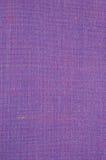 紫罗兰色葡萄酒花呢羊毛织品背景纹理样式,大详细的垂直的织地不很细宏观特写镜头,紫色,黄色,蓝色 图库摄影