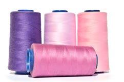 紫罗兰色螺纹树荫  免版税图库摄影