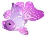 紫罗兰色鱼 皇族释放例证