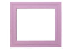 紫罗兰色画框 库存图片