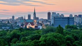 罗兹波兰 免版税库存照片