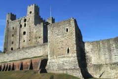 罗切斯特城堡在英国 库存图片