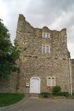 罗切斯特城堡警卫室在英国 库存图片