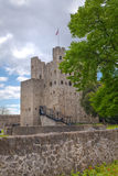 罗切斯特城堡12世纪 设防城堡和废墟  肯特,东南英格兰 库存图片