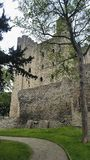 罗切斯特城堡 肯特英国 免版税库存照片