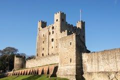 罗切斯特城堡 免版税库存图片