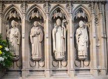 罗切斯特大教堂内部是其次最旧英国的,建立在604AD 免版税图库摄影