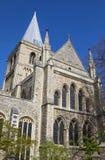 罗切斯特大教堂在肯特 免版税库存图片
